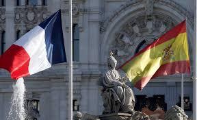 drapeau france espagne