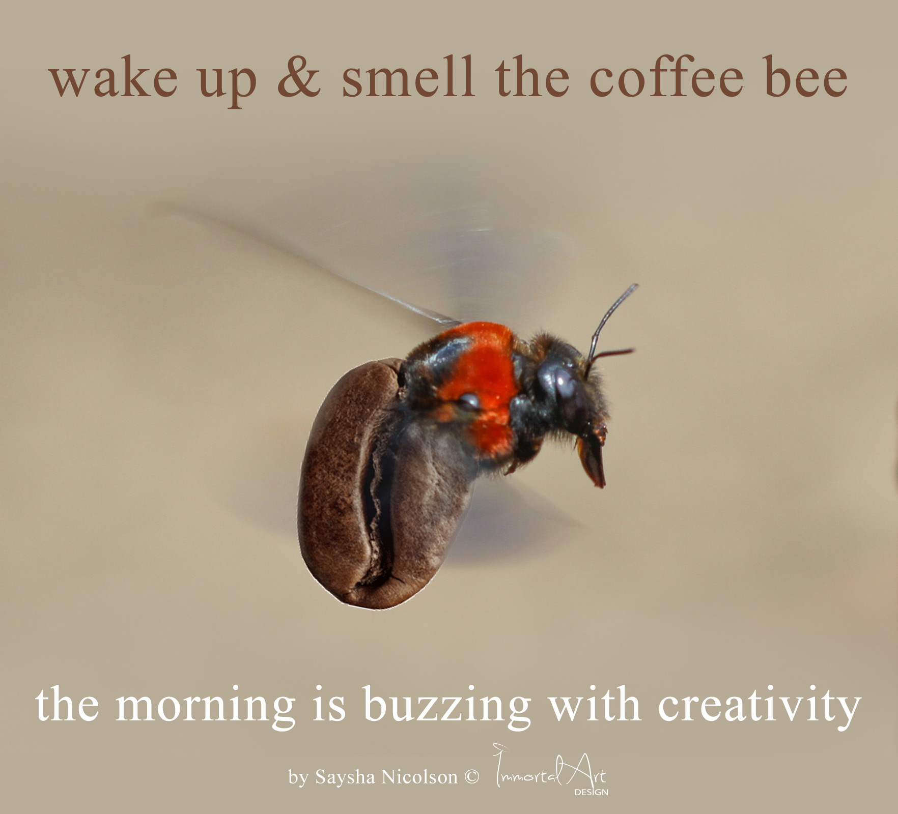 creativity is buzzing