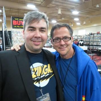 Steve Stone and Scott Lobdell at the Amazing Las Vegas Comic Convention 2013