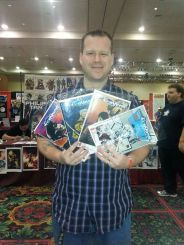 Las Vegas Comic Expo 2013 Immortal Samurai Comics Conquest set