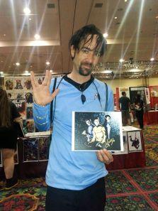 Las Vegas Comic Expo 2013 Immortal Samurai Comics Star Trek