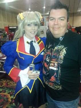 Las Vegas Expo 2013 James Stone Cosplay Immortal Samurai Comics