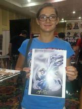 Las Vegas Expo Angel Immortal Samurai Comics