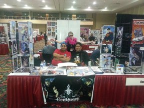 Las Vegas Expo Vince, Ish at Immortal Samurai Comics booth 2013