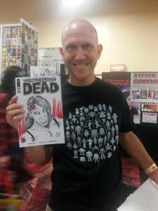 Walking dead Fan Sketch Cover by James Stone 2014