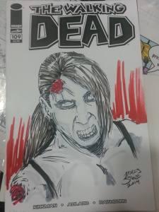 Walking Dead by James Stone