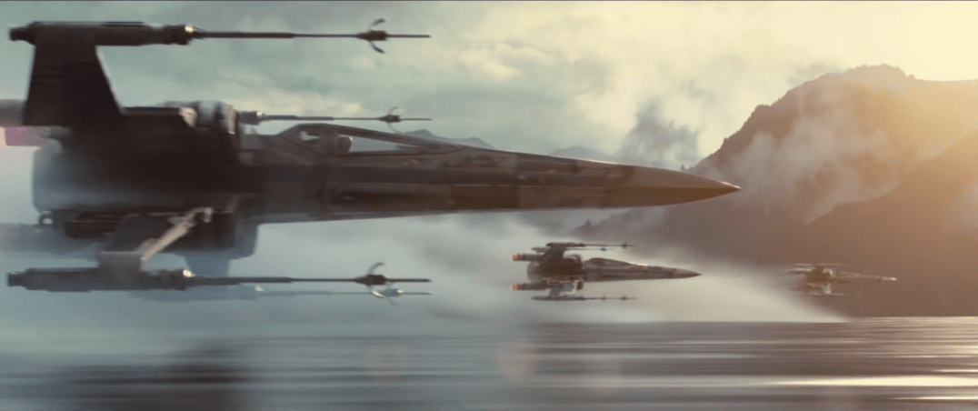 StarwarsVIIForceAwakensXWings