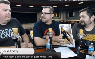 James Stone on Geeks R Sexy