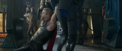 (Thor is helpless)