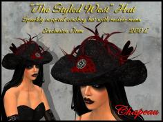 Chapeau The Styled West Hat salespic
