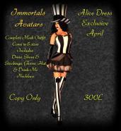Immortals Alice Dress