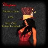 Chapeau Mad Hatter Sales Ad