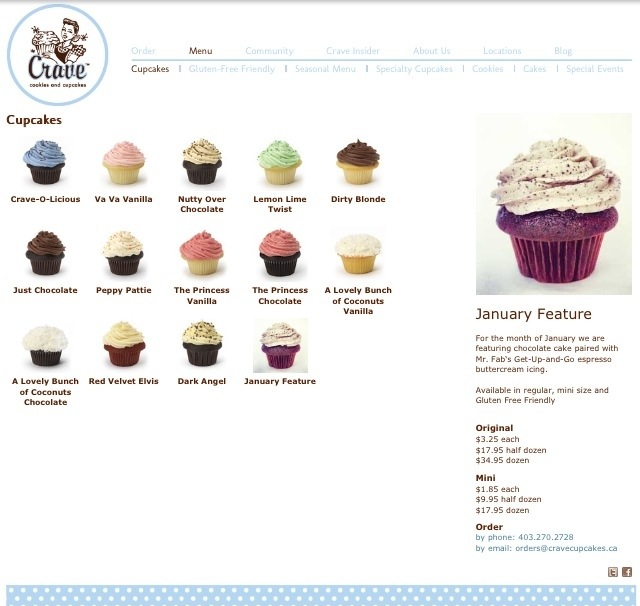 Crave Cupcake Montly Feature Mr. Fab