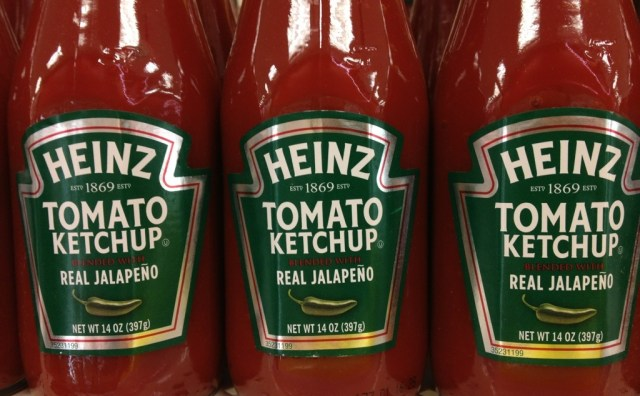 jalepeno Ketchup heinz