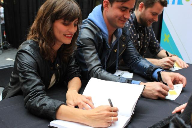 Dragonette Martina Sorbara Dan Kurtz & Joel Stouffer Juno Fan Fare 2013
