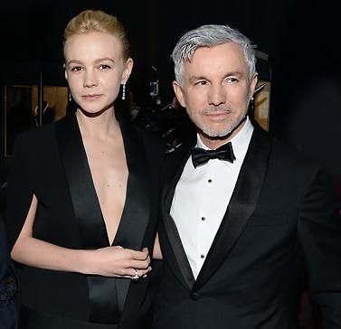 Baz Luhrmann and Carey Mulligan Tiffany & Co