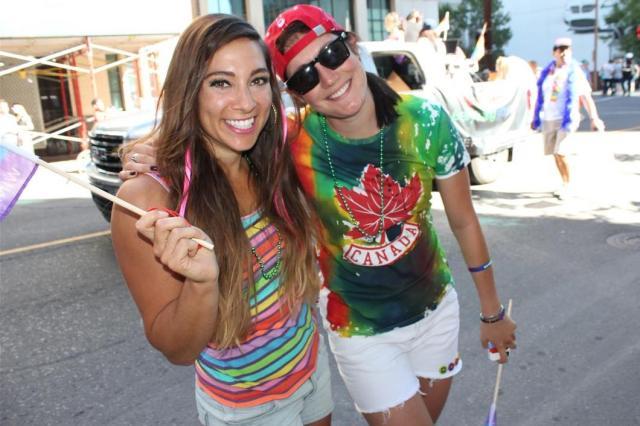 Shannon & Anastasia Canadian Olympics