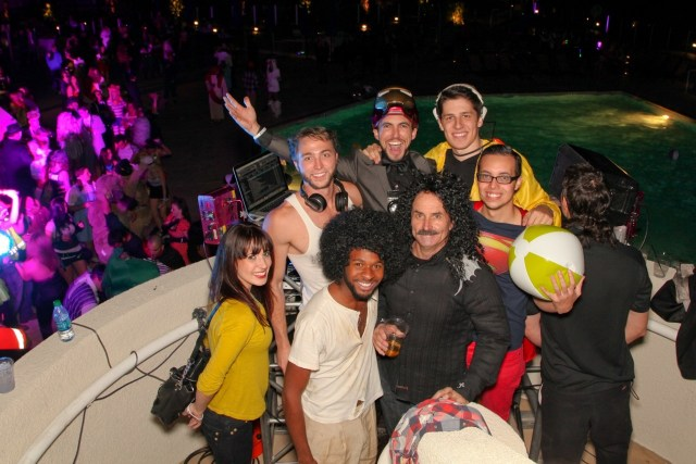 BB Halloween Bash Hard Rock Hotel Palm Springs