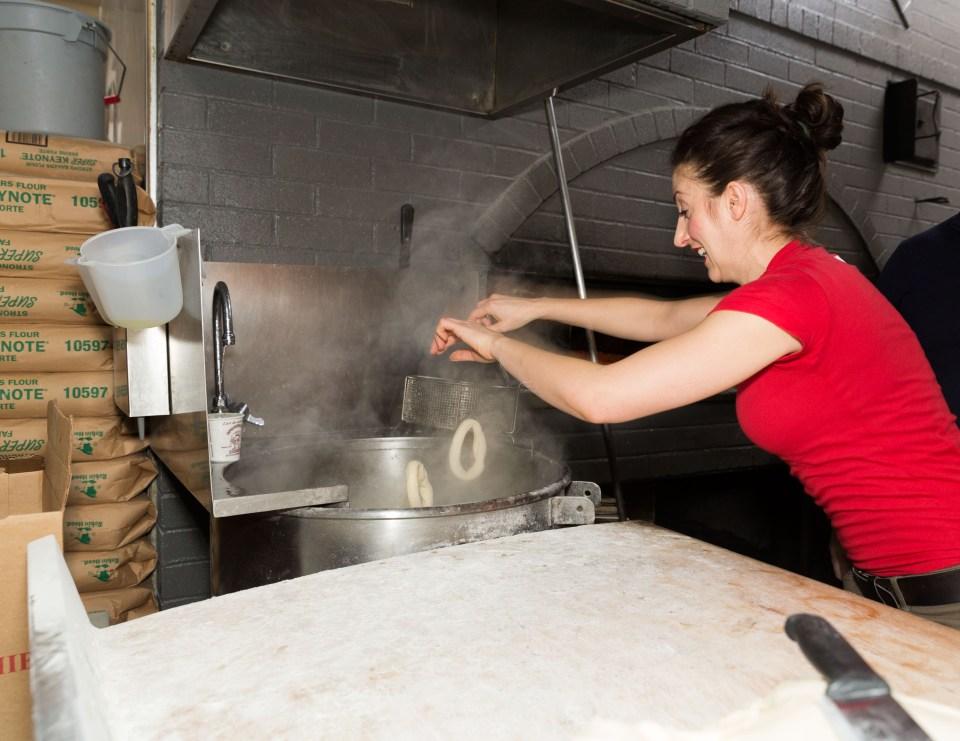 St Viateur Bagel Cafe Montreal MrFab 4