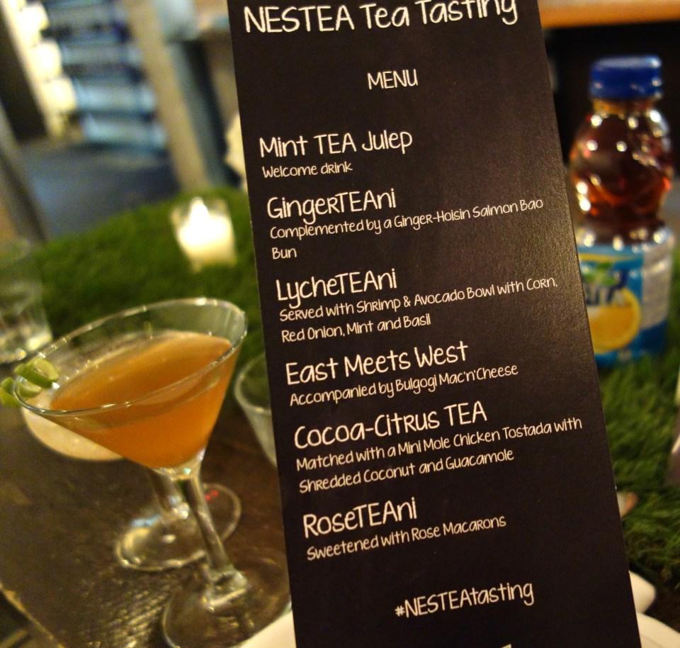Nestea_Tasting_Menu