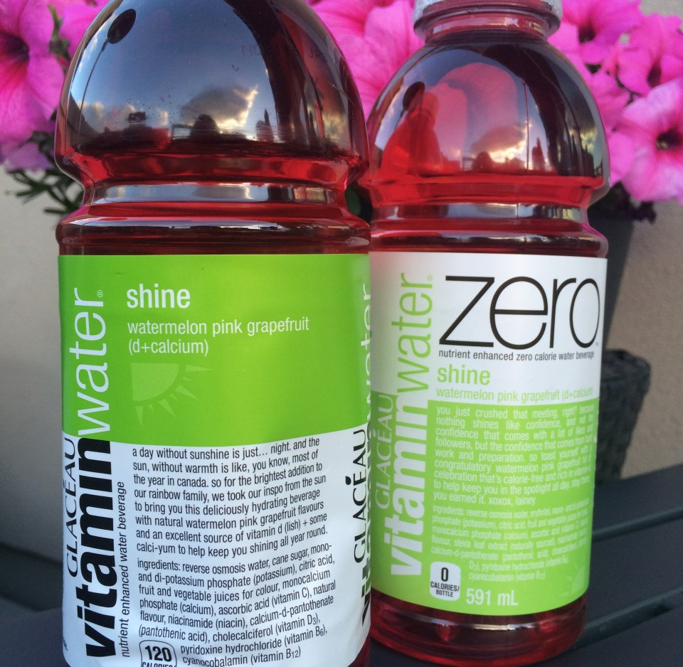 Vitaminwater SHINE with vitamin d + calcium