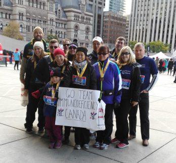 Scotiabank Go Team Immunodeficiency Canada