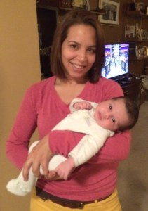 Cristian with his Titi (Aunt) Neiqui