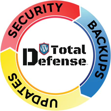 WordPress Total Defense - Security, Backups, Updates