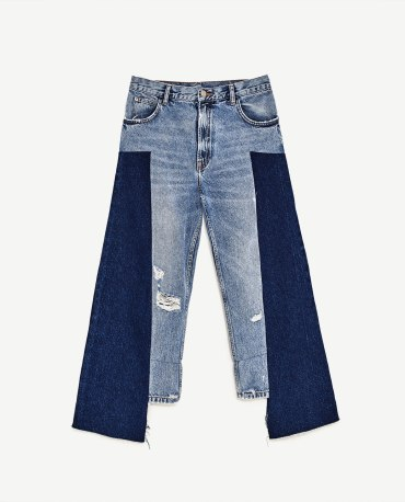 MID-RISE STRAIGHT FIT JEANS