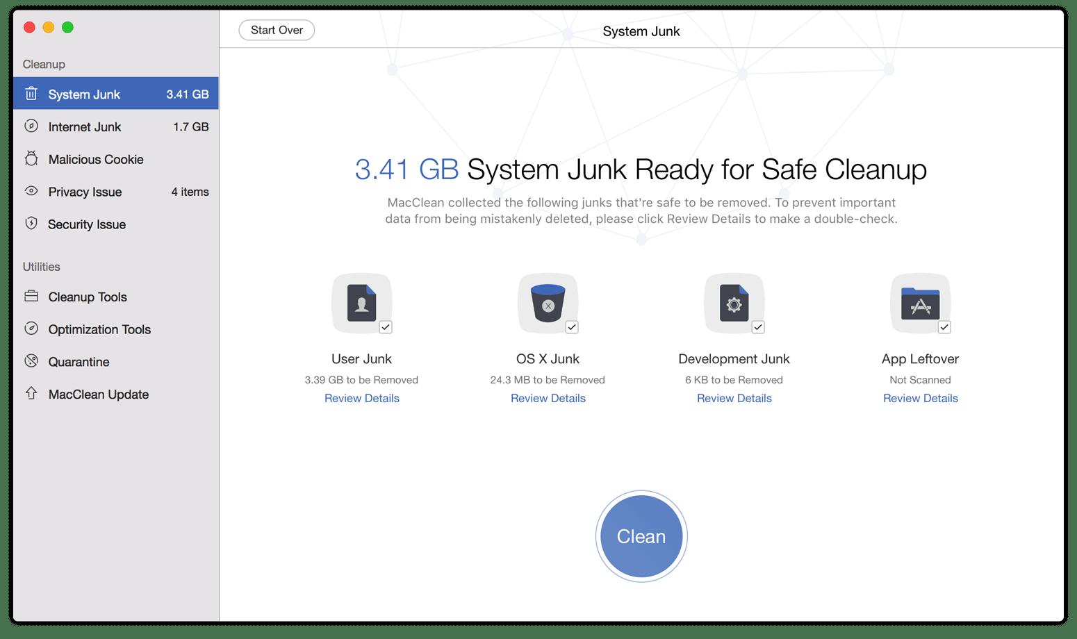 MacClean for Mac 3.2.0 破解版 – 清理、优化、隐私和安全防护-麦氪派(WaitsUn.com | 爱情守望者)