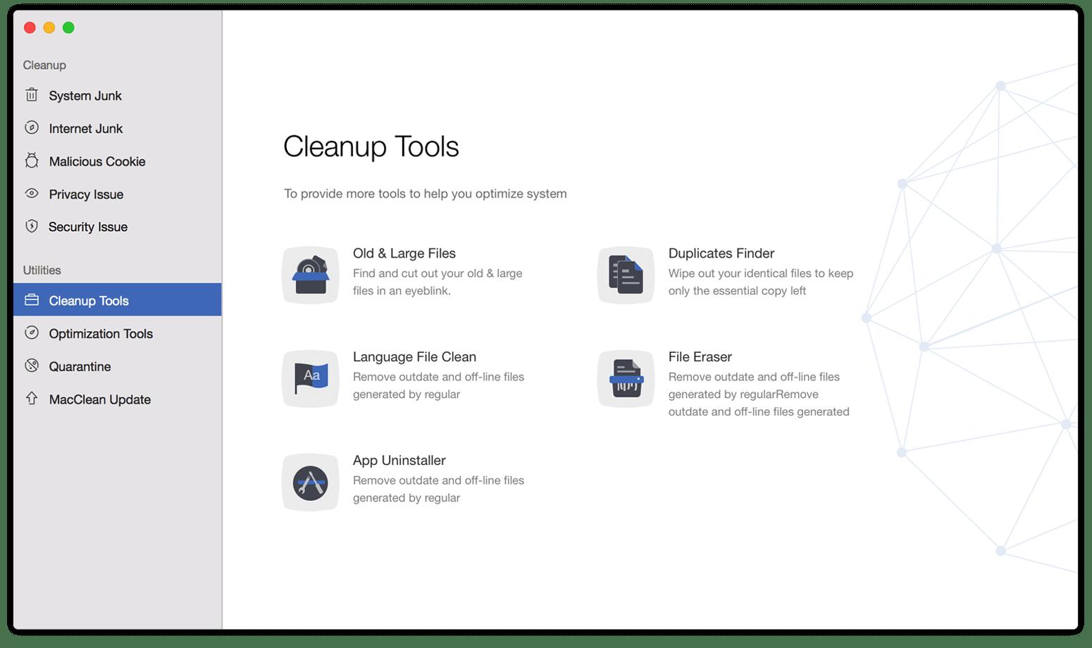 MacClean Pro 3.6.0.20200319  Mac 破解版 - 清理、优化、隐私和安全防护