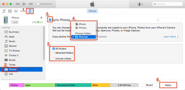 How to Transfer Photos from Computer to iPhone? 4 Easy Ways