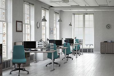 Sillas de Operativas Tapizadas - Muebles de oficina Granada- IMOC.es