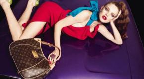Louis Vuitton Bolsos y Supermodelos