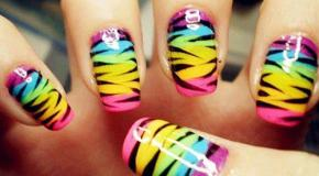 El color de moda en uñas
