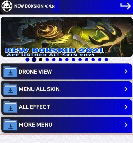 New Box Skin Injector APK v4.8 Free Download