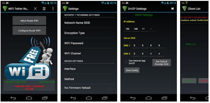 Wi-Fi Tether Router v6.3.5 APK (No Root) Latest 2021 Free For Android