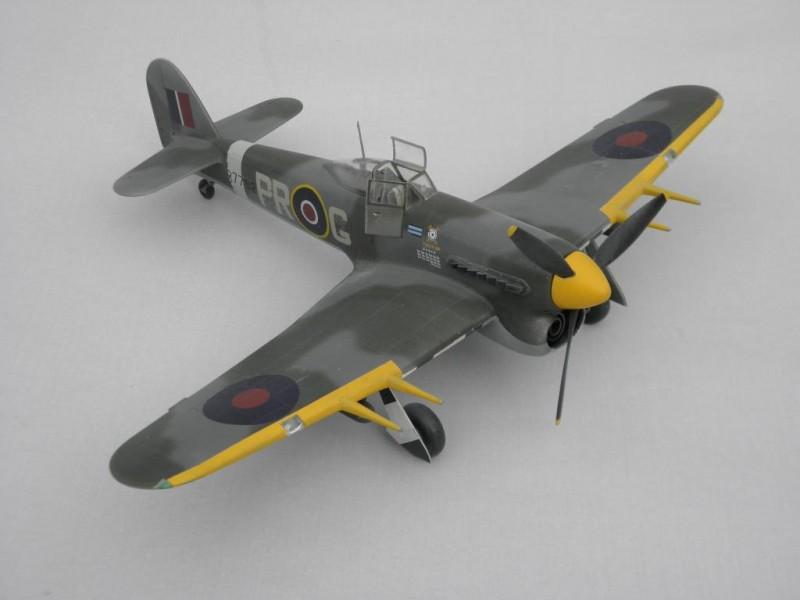 Hawker Typhoon MK 1B Car Door If 609 Squadron IModeler