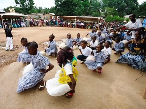 One of several important events promoting peace in Bangui after rebel attacks