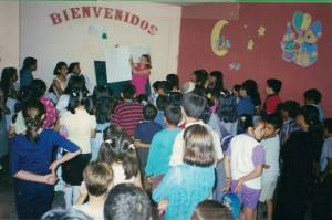 Teaching children's ministry in Mexico