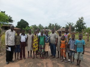 New orphans and staff and the JP