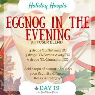 19 Eggnog in the Evening Diffuser Blend