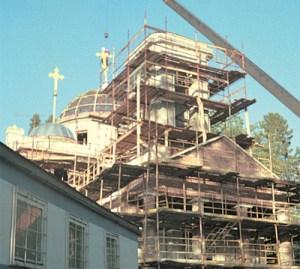 Восстановление храма на Подворье в поселке Вартемяги