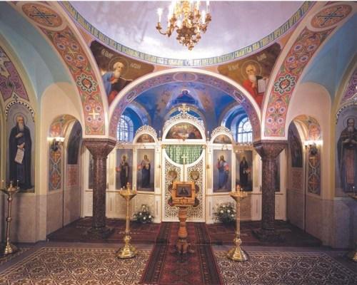 нижний храм прп. Иоанна Рыльского
