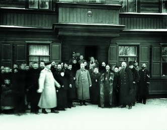 св. прав. о Иоанн Кронштадтский с почитателями