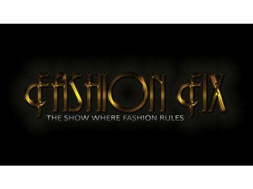 Virtual Fashion Television Show Logo