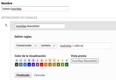 canal imorillas email