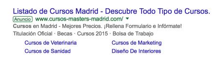 anuncios mejorados en Google
