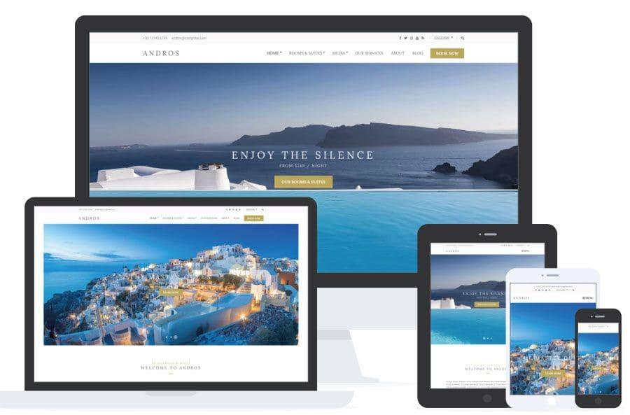Andros - WordPress para Hoteles