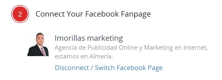 conexion con facebook de zotabox
